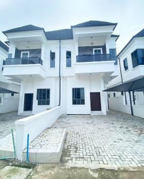 Nicely Built 4 Bedroom Semi Detached Duplex with Bq, Osapa Axis., Lekki, Lagos, Semi-detached Duplex for Sale