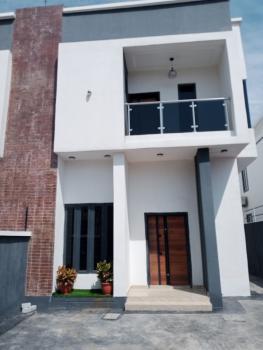 Self Serviced 4 Bedroom Semi Detached with a Bq in an Estate, Lafiaji, Lekki, Lagos, Semi-detached Duplex for Sale