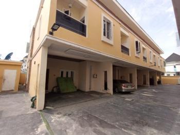 4 Bedroom Terrace Service Apartment, Chevron, Lekki, Lagos, Terraced Duplex for Rent