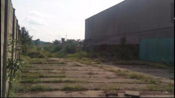 Fully Fenced 70 Plots of Land (30 & 40 Plots) with a Massive Warehouse, C of O, Ordinance Road, Trans Amadi, Port Harcourt, Rivers, Commercial Land for Sale