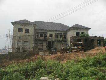 Carcass 4 Bedroom Twin Duplex, Katampe (Main), Katampe, Abuja, 8 bedroom, 8 toilets, 8 baths Detached Duplex for Sale