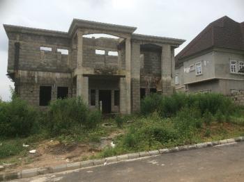Carcass 5 Bedroom Duplex, Blue Fountain Estate (efab Metropolis), Karsana, Abuja, Detached Duplex for Sale