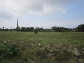 One Thousand Nine Hundred Acres of Land, Waterfront, Inagi Village Along Kakon Model College Owode Apa Road, Badagry, Lagos, Commercial Land for Sale