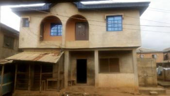 a Building Comprises of 1 No 3 Bedroom Flat + 1 No 2 Bedroom Flat + 2 No Mini Flat and 8 Rooms Good for Hotel, Alhaji Tanimowo Street, Agbado Crossing By New on Going Construction of Bridge,, Alagbole, Ifo, Ogun, Flat / Apartment for Sale