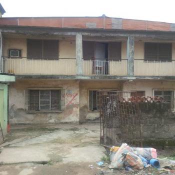 Old Residential Building Consisting of 4(no) 3 Bedroom Flat, of Adekunle Kuyi, Aguda, Surulere, Lagos, Block of Flats for Sale