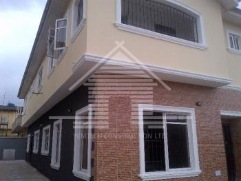 Brand New 4 Bedroom Semi Detached  Duplex, Ilupeju Estate, Ilupeju, Lagos, House for Sale