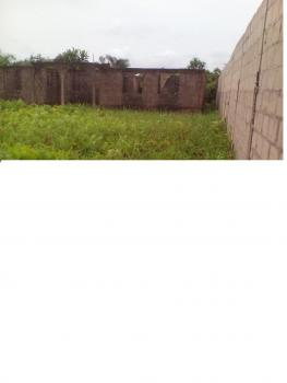 a Plot of Land with Building, New Haven Estate Iba, Iba, Ojo, Lagos, Terraced Bungalow for Sale