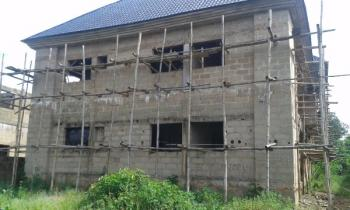 Uncompleted Block of 4 No. 3 Bedroom Flats, Behind Goshen Estate, Independence Layout, Enugu, Enugu, Self Contained Flat for Sale