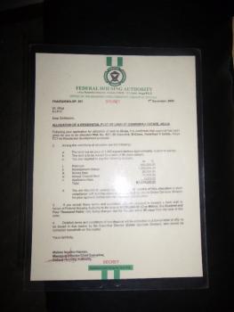 Plot of Land, No. 821, 64 Crescent, B-close, Gwarinpa Estate, Gwarinpa, Abuja, Residential Land for Sale