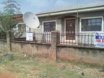 3 Bedroom Flat on a Corner Piece, Karu, Abuja, Detached Bungalow for Sale