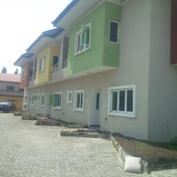 Well Finished 4 Bedroom Terrace House, Agungi, Lekki, Lagos, Terraced Duplex for Sale