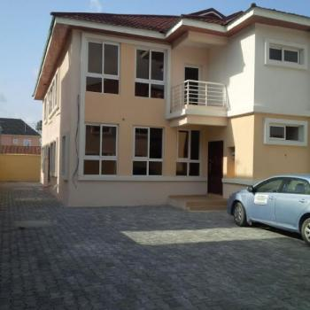 Brand New Serviced 4 Bedroom Semi-detached House with Bq, Osapa, Lekki, Lagos, Semi-detached Duplex for Rent