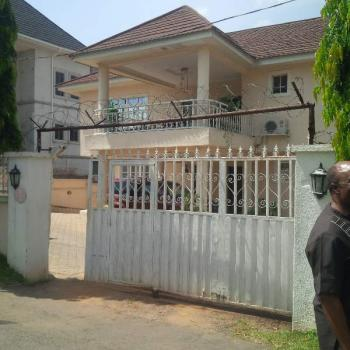 Solidly Built 6bedrooms Detached Duplex with Bq & Swimming Pool, Off Justice Sowemimo Street, Asokoro District, Abuja, Detached Duplex for Sale