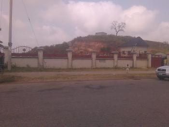 1800sqm Fenced Land Facing Asokoro for Sale, Guzape/asokoro Road, Guzape District, Abuja, Residential Land for Sale
