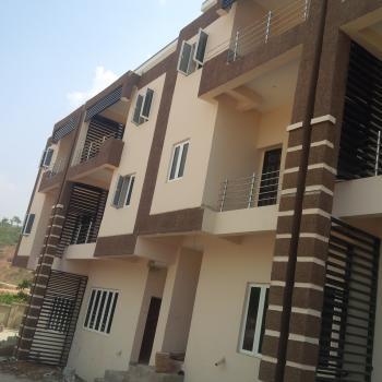 Wonderfully Deisgned, Superbly Finished 4 Bedroom Duplex with Bq, Off Edwin Clark Way, Near Coza Church, Guzape District, Abuja, Terraced Duplex for Sale