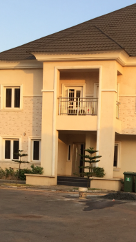 Luxury 4 Bedrooms Semi Detached Duplex for Rent in Jahi Come with 24light and Acs with Fitted Kitchen 3.5m Yearly, Jahi, Jahi, Abuja, Semi-detached Duplex for Rent
