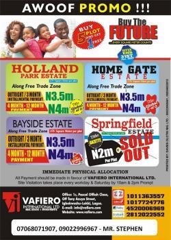 Xmas Awoof Promo, Lekki Free Trade Zone, Lekki, Lagos, Residential Land for Sale