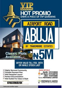 Land, Airport Road, Kuje, Abuja, Land for Sale