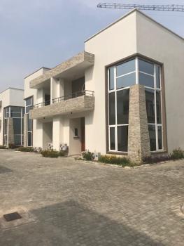 Serene Waterfront 4brm Luxury Unit in Osborne Phase 2, Osborne, Ikoyi, Lagos, Semi-detached Duplex for Rent