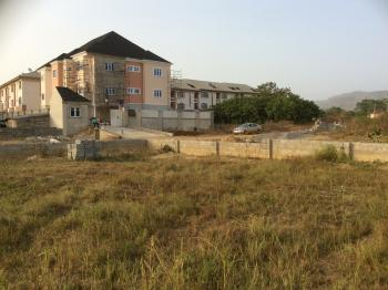 Fenced Build-able and Livable Plot, Beside Gold Court Estate, Katampe (main), Katampe, Abuja, Residential Land for Sale