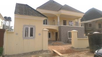 Newly Built 4 Bedroom with 2 Rooms Bq, Wonderland Estate, Along Games Village, Galadimawa Express Way, Kukwuaba, Abuja, Detached Duplex for Sale