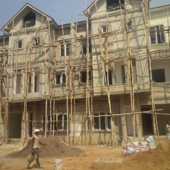 Luxury 4 Bedrooms Terraced Duplex with Bq, Garage, Off Aminu Sale Crescent, Diplomatic Zones, Abuja, Terraced Duplex for Sale