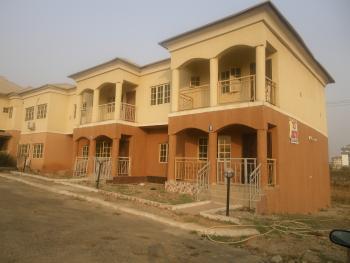 Rare 4 Bedroom, Nazimiyah (turkish) Hospital, Karmo, Abuja, Terraced Duplex for Sale