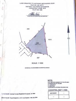 Buildable 2600sqm Land, Katampe Extension, Katampe, Abuja, Residential Land for Sale