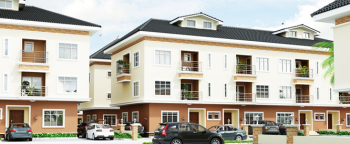 4 Bedroom Terrace @ The Paradise Developed By Lekki Gardens, Close to Stella Maris, Godab, Brains and Hammers, Life Camp, Gwarinpa, Abuja, Terraced Duplex for Sale