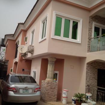 Luxury Built 3 Bedroom, Harmony Villa Estate 10 Mins Drive to Secretariat, Alausa, Ikeja, Lagos, Semi-detached Duplex for Rent
