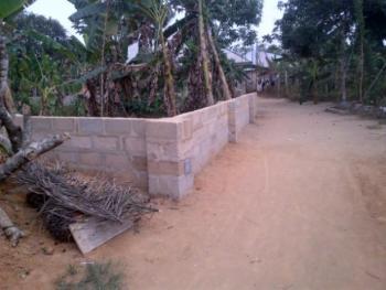 Plot of Dry, Fenced and Surveyed Land, Abak Road, Uyo, Akwa Ibom, Residential Land for Sale