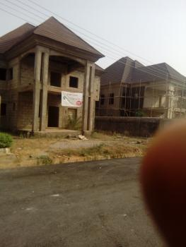 Uncompleted 4 Bedroom, Mac Global Estate, Off Gwarimpa, Karsana, Abuja, Detached Duplex for Sale