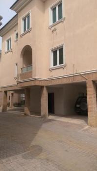 Well Maintained Three Bedroom, Osapa, Lekki, Lagos, Terraced Duplex for Rent