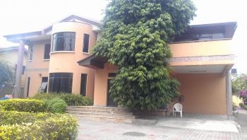 Luxury 5 Bedroom Fully Detached House with 2 Rooms Guest Chalet, Off Bourdillion Road, Old Ikoyi, Ikoyi, Lagos, Detached Duplex for Rent
