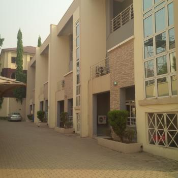 Luxury & Serviced 4 Units, 4 Bedroom Terrace Duplex + Bq, Off Mike Akihgbe Way, Jabi, Abuja, Terraced Duplex for Rent