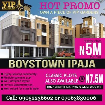 Vip Gardens Boys Town, Ipaja, Lagos, Land for Sale