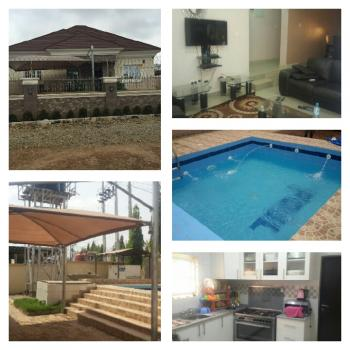 Luxury and Fully Furnished 3 Bedroom Bungalow with 2 Rooms Bq, Karu, Abuja, Detached Bungalow for Sale