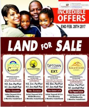Own a Peice of Land in Lekki   Initial Deposit of 950k   Palmsville Courts  , Orimedu Town, Orimedu, Ibeju Lekki, Lagos, Residential Land for Sale