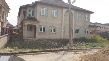 Nicely Built and Well Located 2 Units of 4 Bedroom Semi-detached Duplex, Diamond Estate Phase Two, Sangotedo, Ajah, Lagos, Semi-detached Duplex for Sale