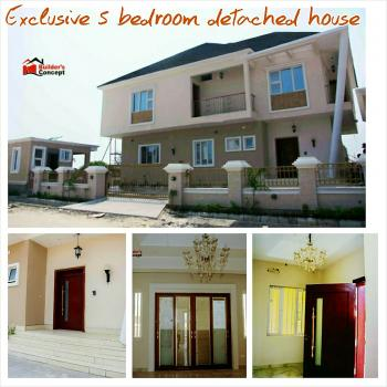 Exclusive 5 Bedroom Detached House, with Swimming Pool, Shoprite/femi Okunnu/pinnock Estate Road,  Within Victory Park Estate, Osapa, Lekki, Lagos, Detached Duplex for Sale