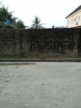 Fenced One Plot, Odili Road Behind Market Square, Trans Amadi, Port Harcourt, Rivers, Residential Land for Sale