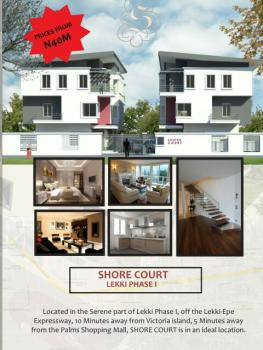 Proceeding Units of Contemporary 3 Bedroom Terraced Duplexes + 1 Room Bq, Lekki Phase 1, Lekki, Lagos, Terraced Duplex for Sale