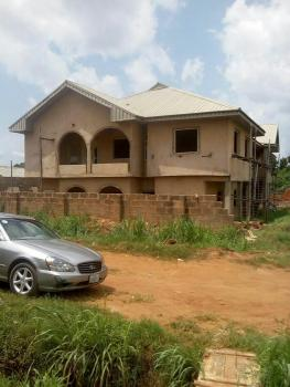 House: 4 Flats with 3 Bedrooms Each (80 Percent Complete), Close to Obi Okeke Church, Oko Central Gra, Oredo, Edo, Block of Flats for Sale