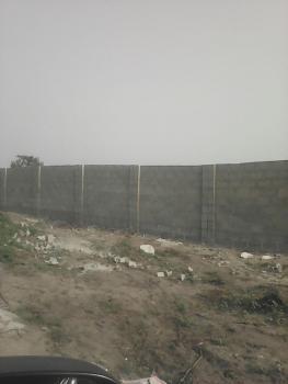 Facing Expressway: 3 Plots of Land Partly Fenced, Eputu Bus Stop/ Mayfair, Eputu, Ibeju Lekki, Lagos, Commercial Land for Sale