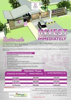 Reach & Rise Gardens, Mowe - Ofada Extension, Obafemi Owode, Ogun, Residential Land for Sale