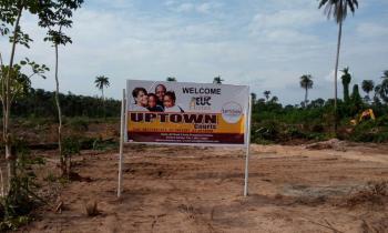 Uptown Courts, Uptown Courts, Osoroko Town Along The Lekki Free Trade, Arapagi Oloko, Ibeju Lekki, Lagos, Residential Land for Sale
