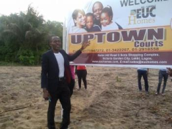 Residential Uptown Courts, Along Dangote Refinery, Ibeju Lekki, Lagos, Residential Land for Sale