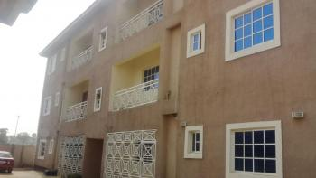 2 Bedroom Flat in a Block of Six Flats, New Site, After Lugbe Plaza, Lugbe District, Abuja, Flat for Rent