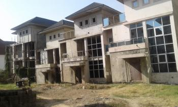 8 Units of 6 Bedroom Duplexes (terraced) with  Bq and Enough Space to Build More Structures, Asokoro District, Abuja, Block of Flats for Sale