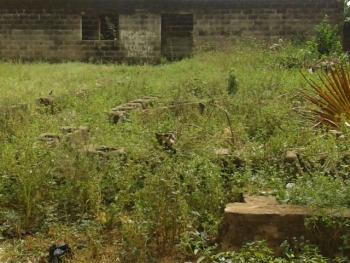 Full Plot of Land (60ft X 120ft) with an Uncompleted Building, Sango Otta, Ado-odo/ota, Ogun, Mixed-use Land for Sale